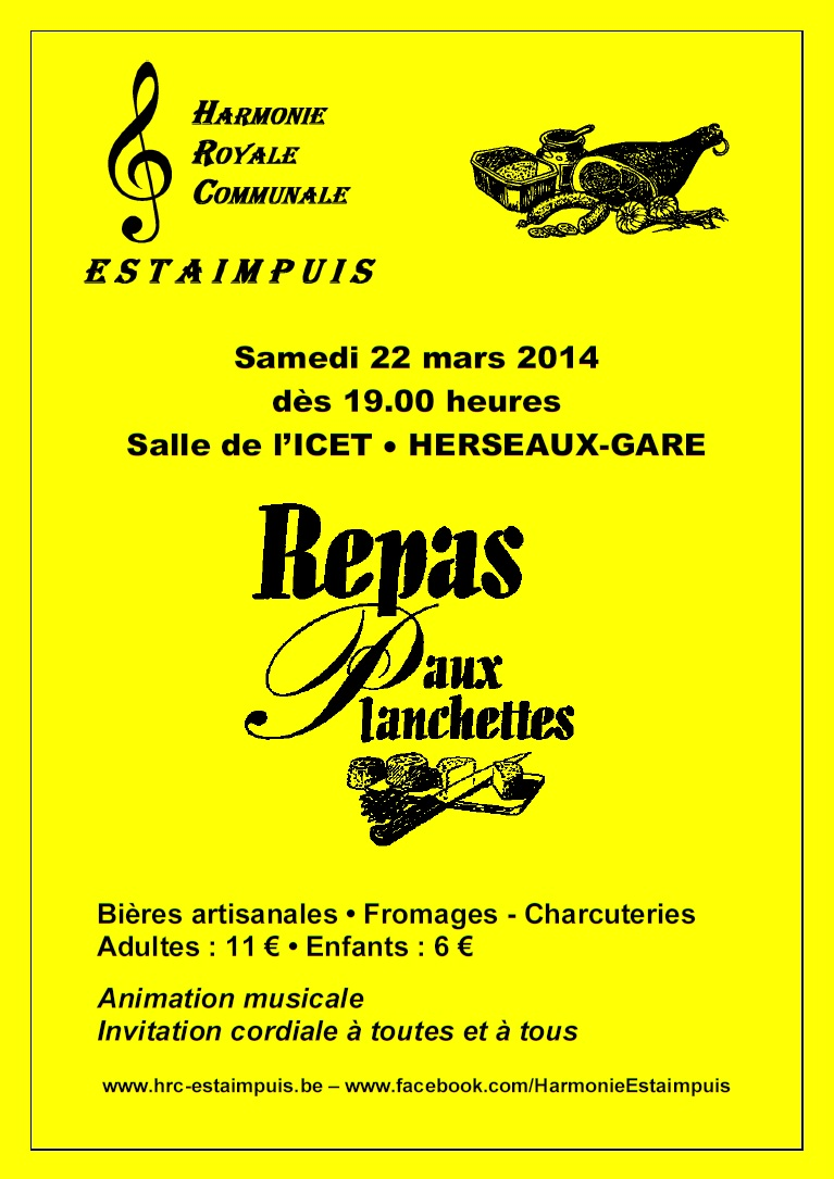 Affiche Planchettes 2014